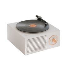 Record Player Turntable Multi-Function Bluetooth Audio Wireless Mini Portable Retro Gramophone Speaker