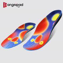 BANGNIPAD Orthopedic Insoles Arch Support Shoes Pad Relieve Plantar Fasciitis Inserts Care Flat Foot Orthotic Sole for Men Women