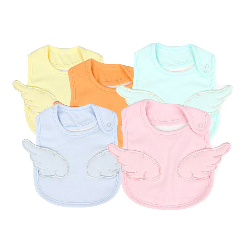 Newborn Boy Girl Scarf Baby Bib Towel Burp Cloth Bandana Bibs Scarves Cotton