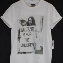 ACTUAL FACT SHAOLIN FOR THE CHILDREN ODB JOHN LENNON HIP HOP TEE T SHIRT