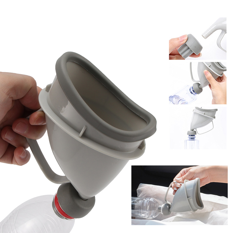 New Sale Portable Outdoor Urine Bottle Funnel Collector For Men and Women Urinals Soft Urination Device Travel Female Standing