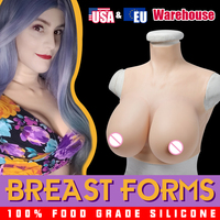 Crossdresser Fake boobs Artificial Silicone Breast Forms Prosthesis Tits For Shemale Trandsgender Drag Queen Mastectomy Poitrine
