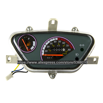 Scooter Light Yang 50CC Instrument Odometer Vehicle Mechanical Oil Meter Motorcycle YB-GY50-LD yb