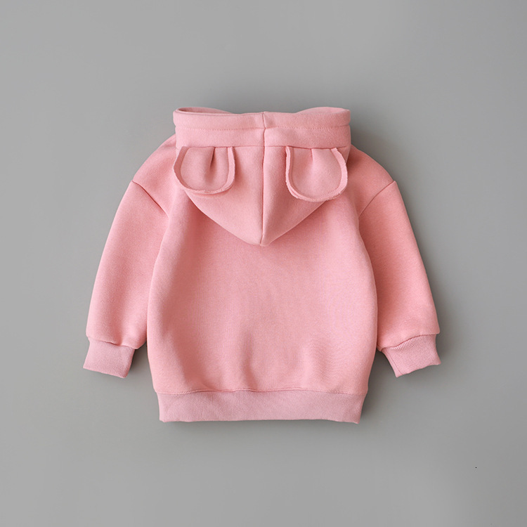 Sweatshirt Hooded Baby-Boys-Girls Kids Children's New Autumn Spring Cotton Infant Casual