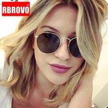 RBROVO 2019 New Street Beat Sunglasses Women Classic Vintage Glasses Men Round Shopping Mirror Oculos De Sol Gafas