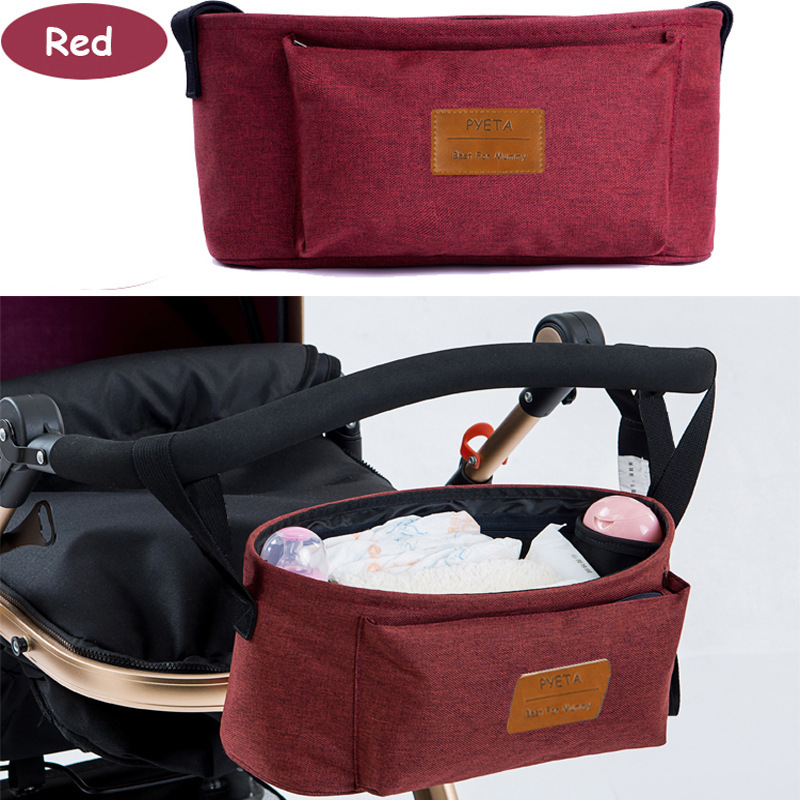 AliExpress Infant Cart Bag Storage Bag Multi-functional Single-shoulder Mommy Bag Stroller Pannier Bag Mom And Baby Diaper Bag