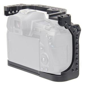 Image 4 - Kamera kafesi Video Film Film Rig sabitleyici Canon EOS R tam çerçeve ILDC kamera + soğuk ayakkabı dağı sihirli kol Video ışığı