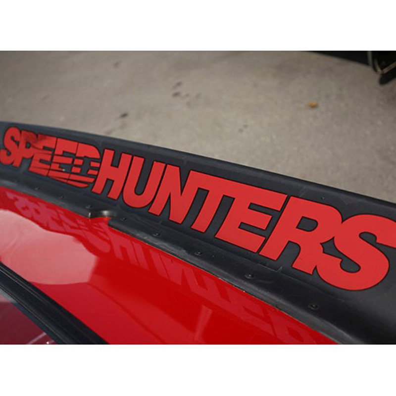 Durable And Practical  Fashion Car Stickers Decal Trim Speedhunters 30*3 Cm / 44 * 5 Cm / 70.5 * 9 Cm