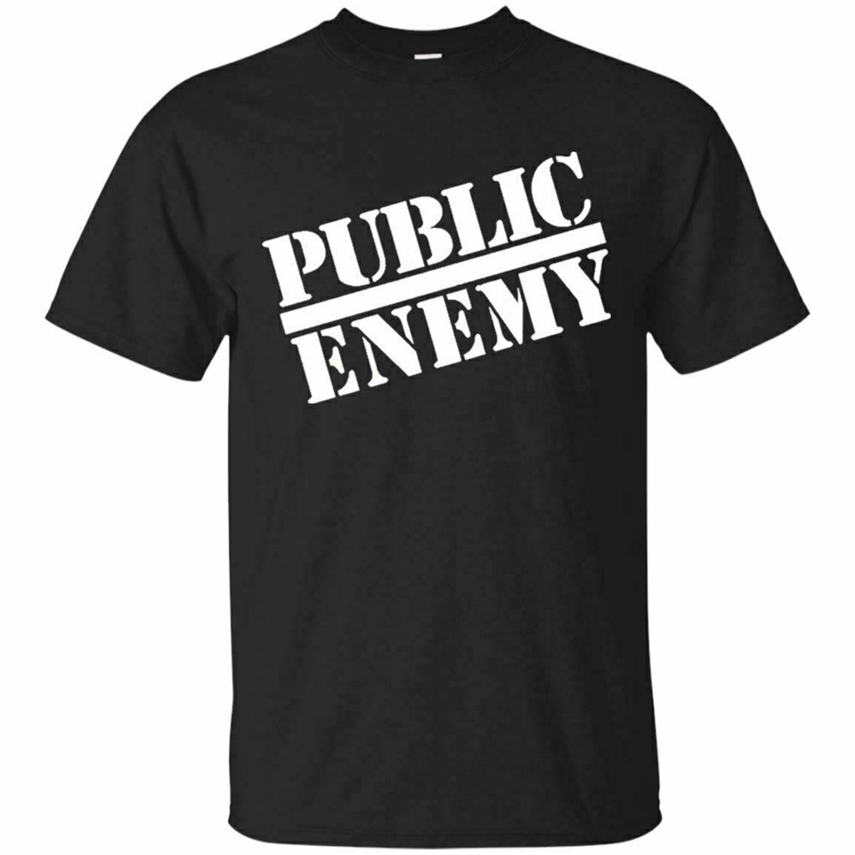 Public Enemy Logo Tshirt 2019 Trend Hip Hop Band Men'S T Shirt Size S - 3Xl Newest Fashion Tee Shirt