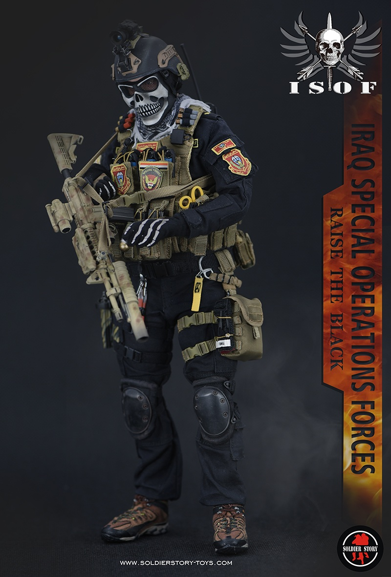 Soldier StorySS105 1//6 Iraq Special Operations Forces ISOF Action Figure Model