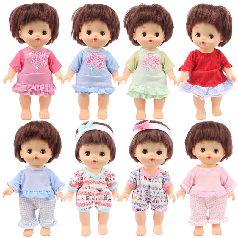 Doll 14 Styles Nenuco Doll Casual Set Clothes Cut Dress,Pajamas Fit 25 Cm Mellchan Doll Accessories,Generation,Girl's Toy Gift