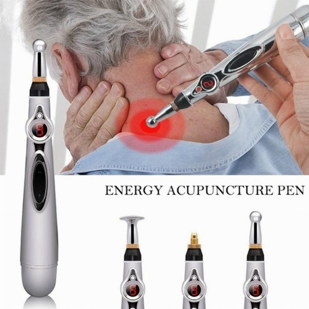 Acupuncture Pen Electronic Accupuncture Pen Massage Pen Energy Pen Relief Pain Tools 40FM12