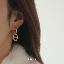 Nowe modne kolczyki świński nos kolczyki stylowe kolczyki z dziurką modne modne kolczyki dla kobiet 2021 luksusowe kolczyki Trendy 2021 tanie tanio abay Brak CN (pochodzenie) earrings women brass Spring of 2021