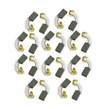 20 Pcs Replacement Motor Carbon Brushes for Electric Motors 18 x 13 x 7mm 2 pcs electric replacement motor carbon matal brushes 7mm x 11mm x 18mm