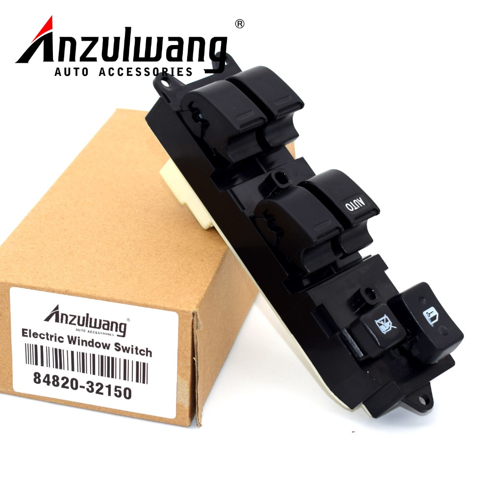 Auto Parts 84820-32150 8482032150 Power Window Lifter Regulator Master Control Switch For Toyota Camry Land Cruiser