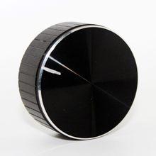 Aluminium + Kunststoff Knopf Potentiometer Knopf Kappe Lautsprecher Volumen Drehknopf Audio Knob 48x20mm