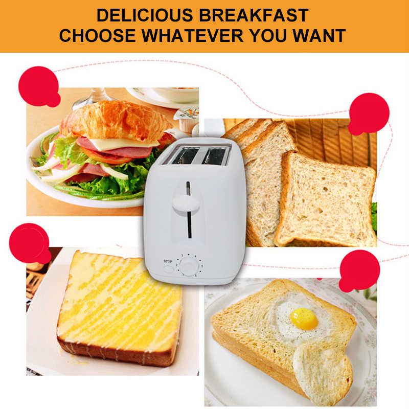 800W automatyczny elektryczny posiłek Makin 'chleb toster narzędzie śniadaniowe dla rodzin 6 biegów regulowany robot kuchenny