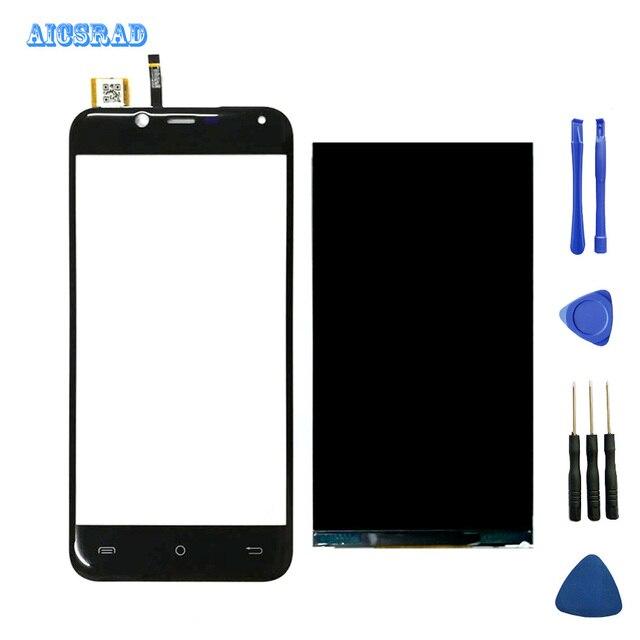 """1280*720 Schwarz 5.0 """"For Cubot Magie LCD Display + Touch Sccreen Digitizer Montage Telefon Zubehör Werkzeuge + klebstoff + werkzeuge"""