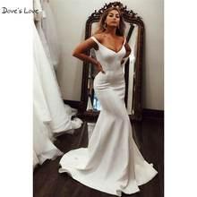 Потрясающие свадебные платья трапециевидной формы 2020 с v образным