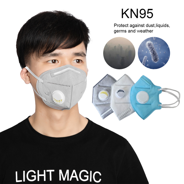 50pc K95 Mask Antiflu Flu Anti Infection KN95 Masks Particulate Respirator PM2.5 Protective N95 Safety Mask Instock 1