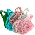 Haushalts obst net tasche multi-funktion net tasche lagerung umweltschutz einkaufstasche einfache stil high-stärke tasche