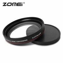 ZOMEI ультратонкий 0.45X широкоугольный оптический стеклянный фильтр с многослойным покрытием 40,5 мм 49 мм 52 мм 58 мм 62 мм 67 мм 72 мм 77 мм