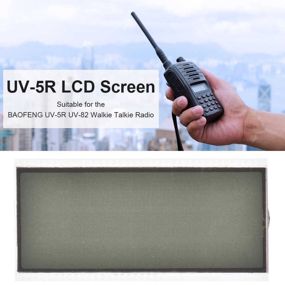 High Quality Walkie Talkie LCD Display Screen For BAOFENG UV5R UV-82 Retevis RT-5R Radio Walkie Talkie Repair Accessories