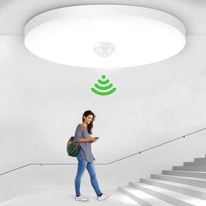 Motion Sensor Led Night Light 220V 110V Smart LED Light Lamp With Sensor E27 Light Bulb 20/30/40W For Home Toilet Night Lighting