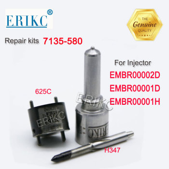 H347 + 9308-625C CR Diesel Injector Repair Kits 7135-580 for A6510704987 A6510700587 EMBR00002D EMBR00001D EMBR00001H 28342997 image