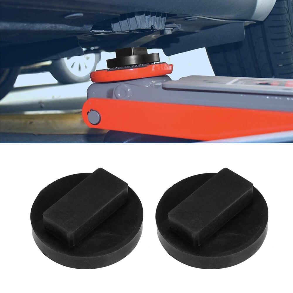 Car Repair Tool 2Pcs Jack Pad Adapter Frame Rail Protector Jack Lift Point Pad Fit For BMW Mini