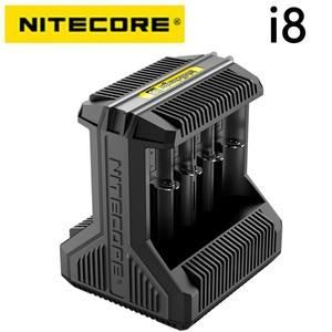 Image 2 - Nitecore i8 Intelligent Charger 8 Slots Total 4A Output Smart Charger for IMR18650 16340 10440 AA AAA 14500 26650 and USB Device
