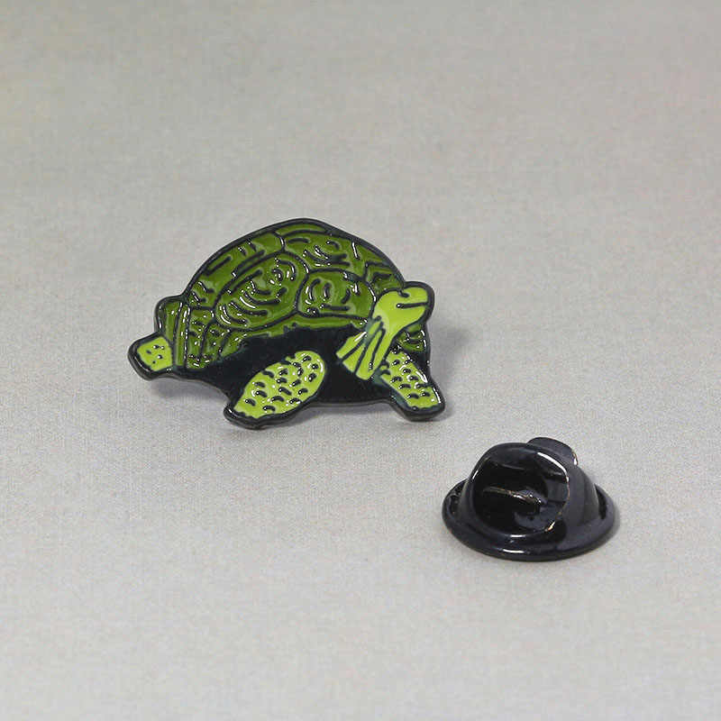 THE SIMPSONS Turtle Bros dan Enamel Pin Hewan Turtle Lencana Kerah Pin