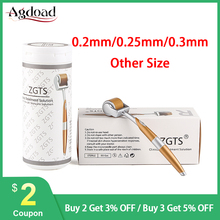 Professionelle ZGTS Titan Derma Roller 192 Nadeln Microneed für Gesicht Hautpflege und Haarausfall Behandlung Schönheit Werkzeug