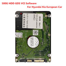 Software Gds Vci para Hyundai Kia para Formato de Software de Diagnóstico de Carros Europeu Hdd 500G Sata(China)
