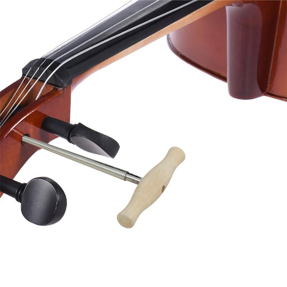 Wood Handle Alloy Steel Violin Peg Hole Reamer 1:30 Taper For 3/4 4/4 Violin Parts & Accessories Stringed Instruments Supplies