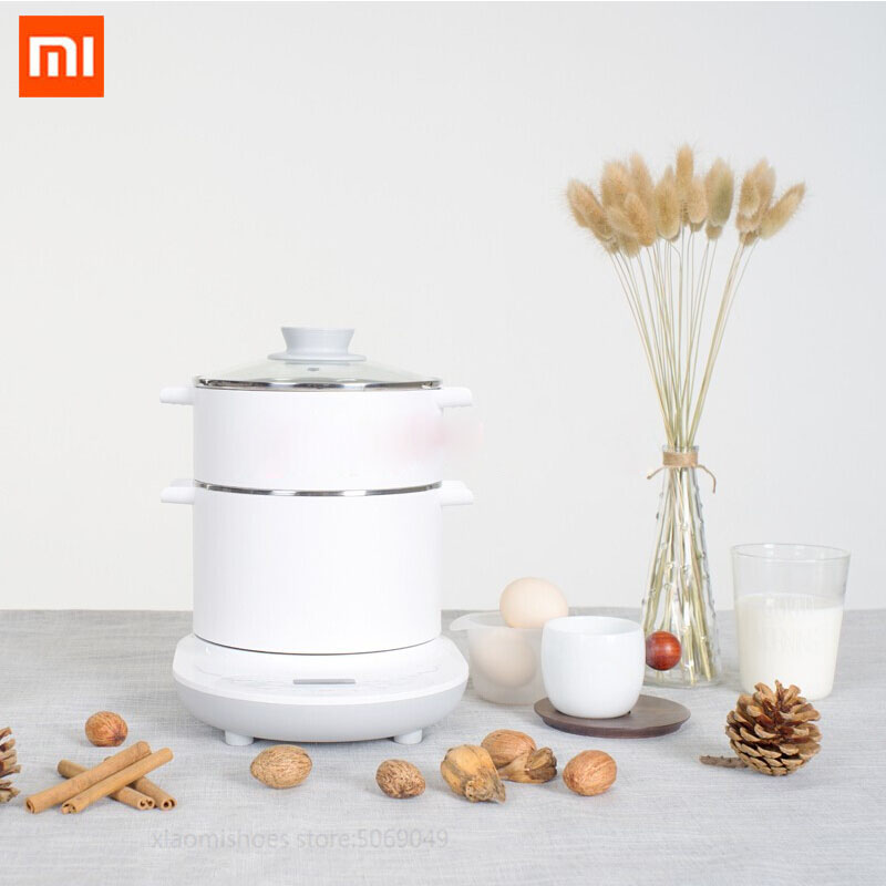 Xiaomi Mijia OCOOKER CR DR01 Multifunction Electric Cooker Kettle Hot Pot Grill Plate with Steamer Egg Boiler Smart Remote Control  - AliExpress