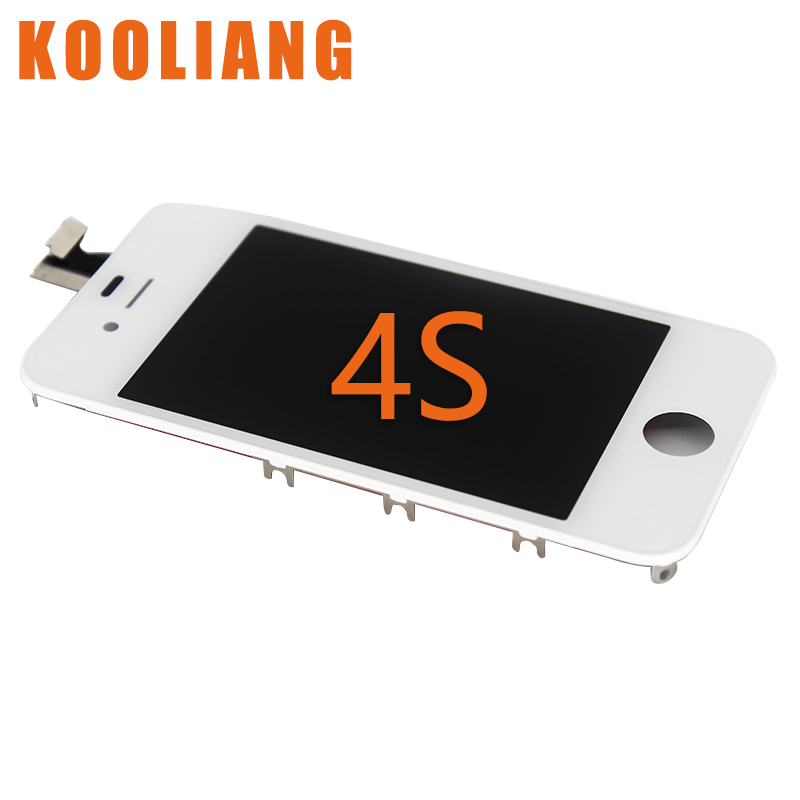 On Russian Warehouse AAA Pantalla For IPhone 4 4g 4s LCD Display Touch Screen With Digitizer Replacement