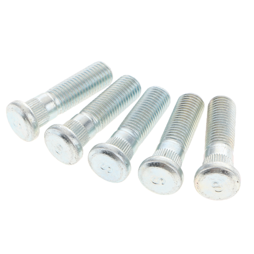 5 Pieces 50mm Long Extended Wheel Studs For Honda CR-V Element Odyssey Accord