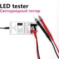 201new led tester 0-300 v saída de ajuste automático tv luz de tira backlight com lâmpada tubo placa teste ferramenta