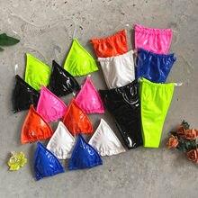 Lucido PU-cuoio Bikini Costumi Da Bagno Perizoma Beachsuits Bagnanti Taglio Alto Costumi da bagno Per Le Donne Sexy Perizoma Nero Sexy Bikini 2020