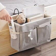 Storage-Pocket-Organizer Bedside Caddy Holder Dorm Room Under-Mattress for College Bag