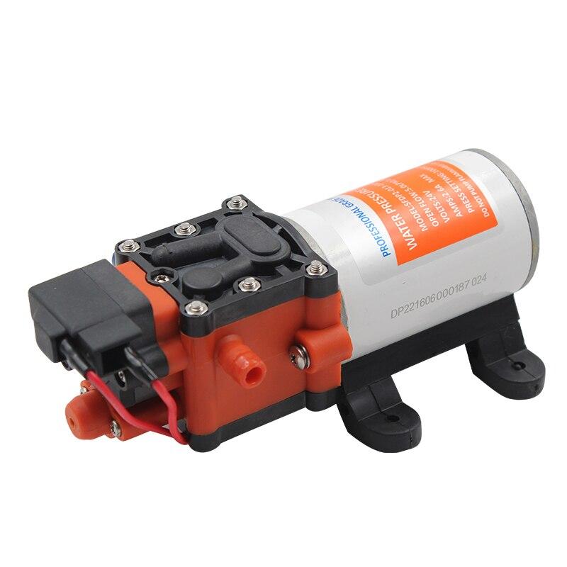12V 24V Marine Water Pump Diaphragm Pump Boat Accessories Showers Toilets Water Transfer Motor For RV Caravan