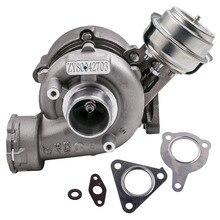 GT1749V Turbo Charger 7178585007S สำหรับ Volkswagen VW Passat B6 2.0 TDI 2.0L เทอร์โบชาร์จเจอร์ BPW AWX AVF 130PS 136hp turbine