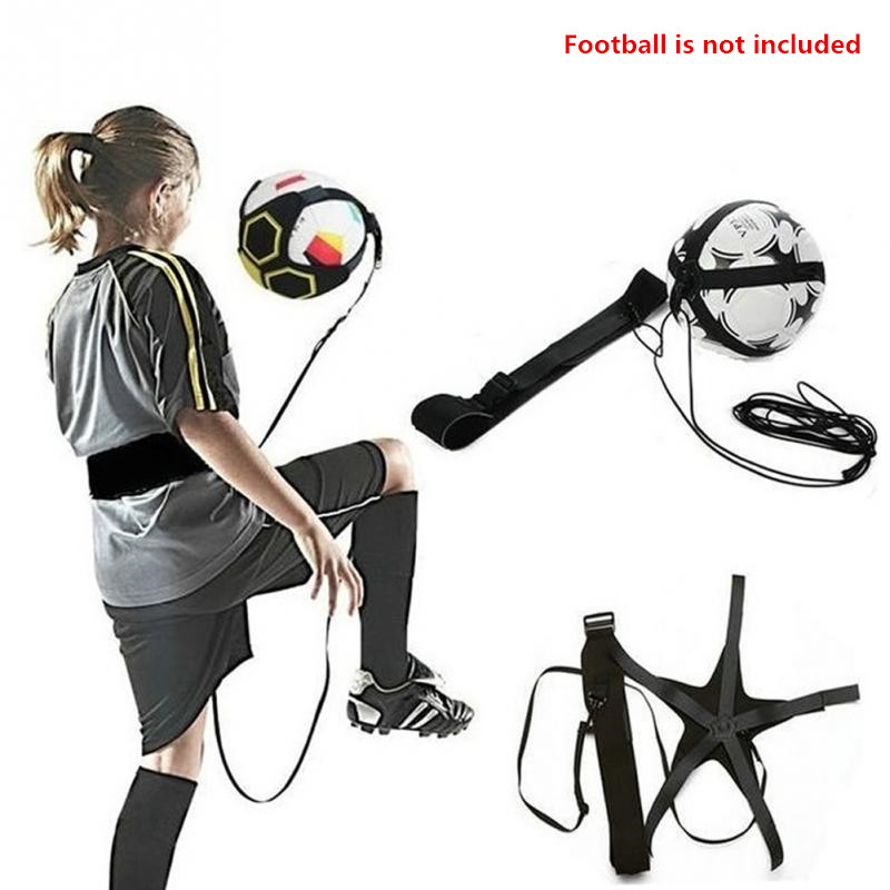Soccer Training Sports Assistance Adjustable Football Trainer Hand-free Soccer Ball Practice Belt Training Equipment Kick