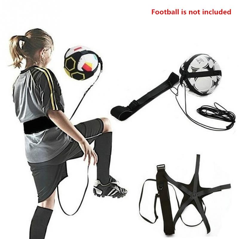 Soccer Training Sports Assistance Adjustable Football Trainer Hand-free Soccer Ball Practice Belt Training Equipment Kick