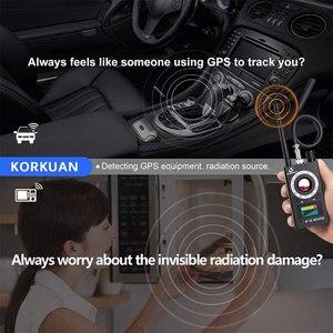 Image 5 - K18 scanner de sinal rf sem fio, detector de sinal escondido, câmera anti aderente, gps magnético, mini áudio gsm localizador