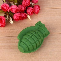 Silicone Grenade Cake Mold Baking Mold Ice Mold Tray Ice Cream Party Cocktail Whiskey Ice Machine Mold Drinking Kitchen Tools