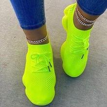 Женские кроссовки; Женская сетчатая обувь на плоской подошве;