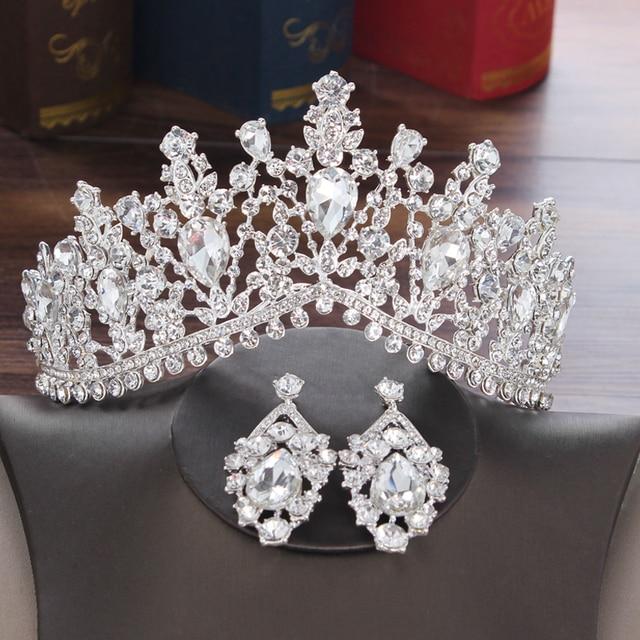 Baroque Crystal Bridal Jewelry Set 3