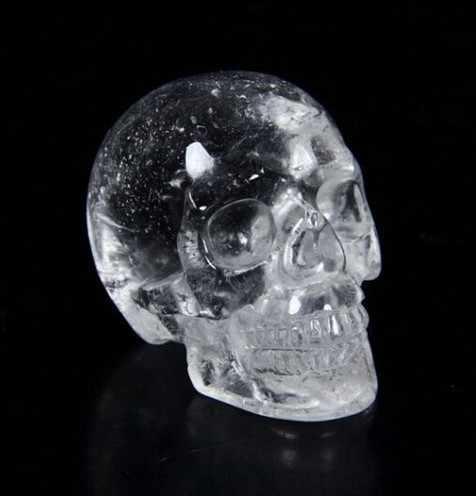 YM 325 kuvars kaya kristal oyma kristal kafatası, gerçekçi, şifa